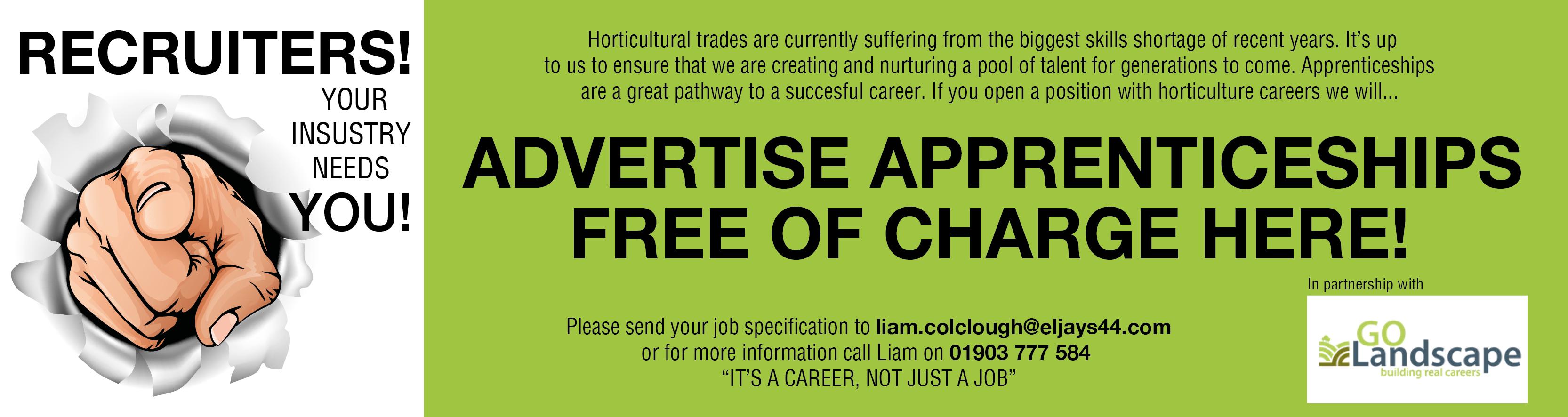 horticulture apprenticeship